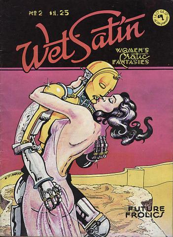 Wet Satin: Women's Erotic Fantasies #2
