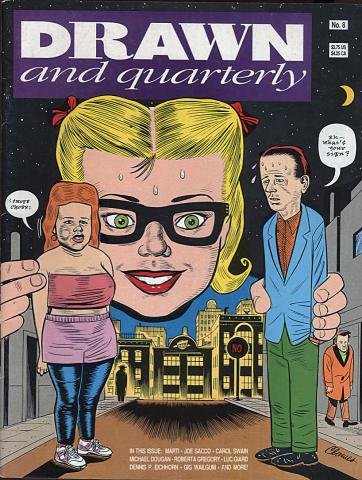 Drawn and Quarterly Vol. 1 #8