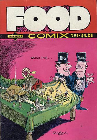 Last Gasp: Food Comix #1