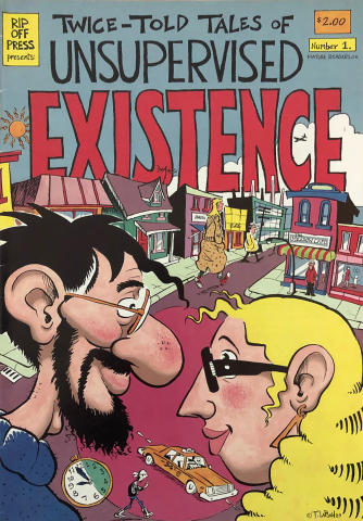 Rip Off Press: Twice-Told Tales of Unsupervised Existence #1