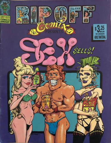 Rip Off Press: Rip Off Comix #27