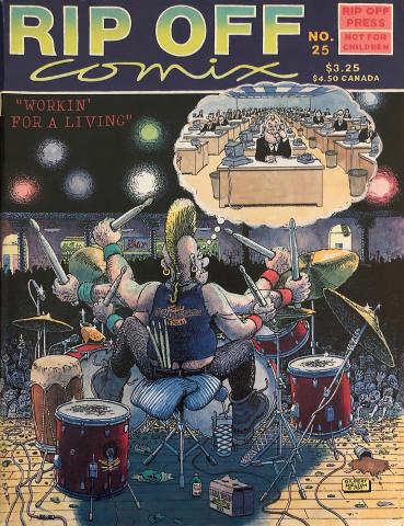 Rip Off Press: Rip Off Comix #25