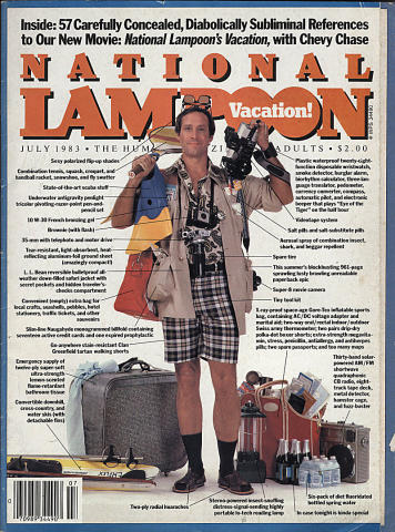 National Lampoon Magazine July 1983