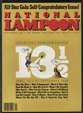 National Lampoon Magazine September 1983