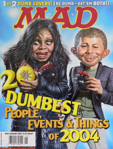 Mad Magazine January 2005