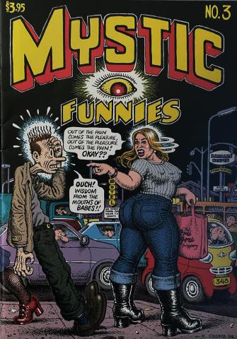 Fantagraphics: Mystic Funnies #3