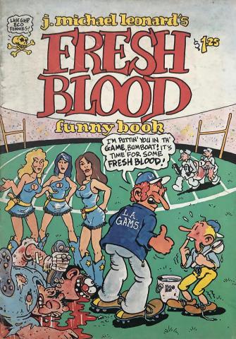 Last Gasp: Fresh Blood Funny Book