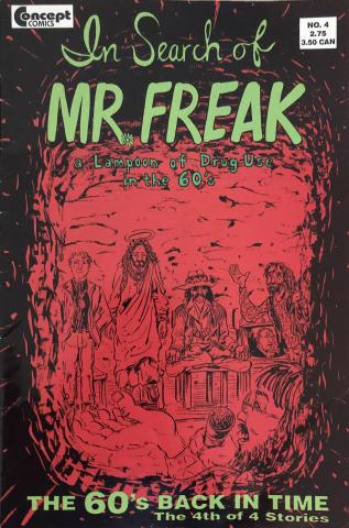 In Search of Mr. Freak #4