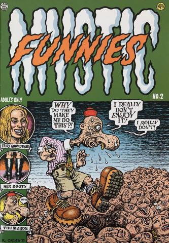 Last Gasp: Mystic Funnies #2
