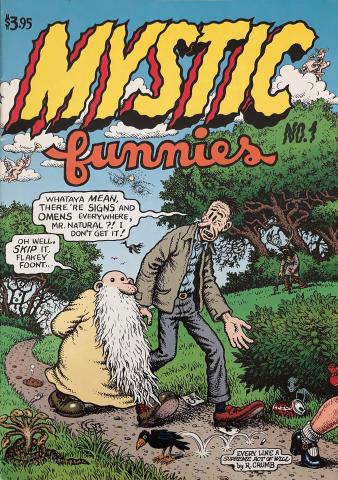 Fantagraphics: Mystic Funnies #1