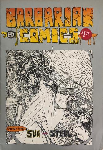 California Comics: Barbarian Comics #1