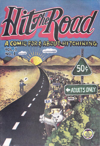 The Print Mint: Hit the Road #1: A comic for & about hitchhiking