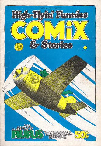 The Print Mint: High-Flyin' Funnies Comix & Stories