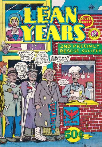 Cartoonists' Co-Op Press: Lean Years