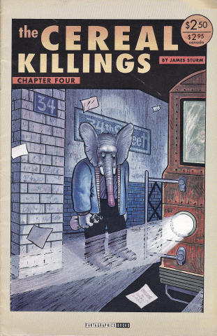 Fantagraphics: The Cereal Killings #4