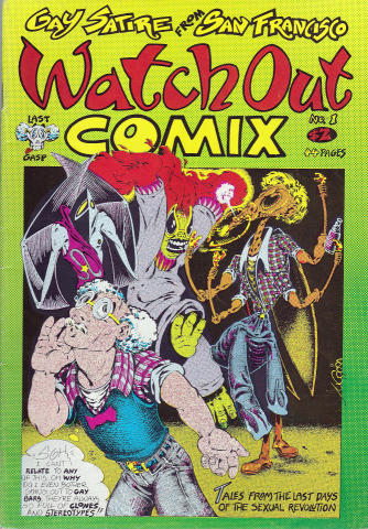 Last Gasp: Watch Out Comix #1