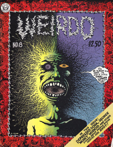 Last Gasp: Weirdo #8