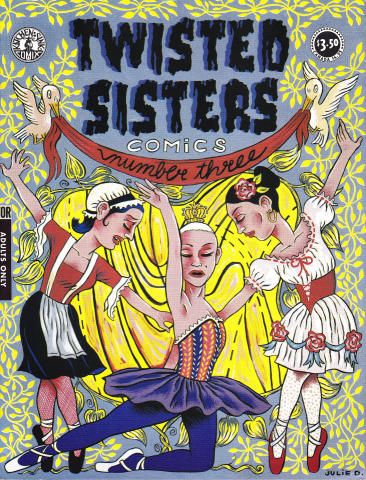 Kitchen Sink: Twisted Sisters Comics #3