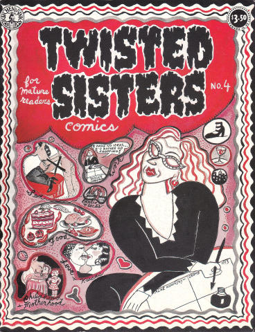 Kitchen Sink: Twisted Sisters Comics #4