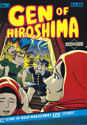 Educomics: Gen of Hiroshima #1