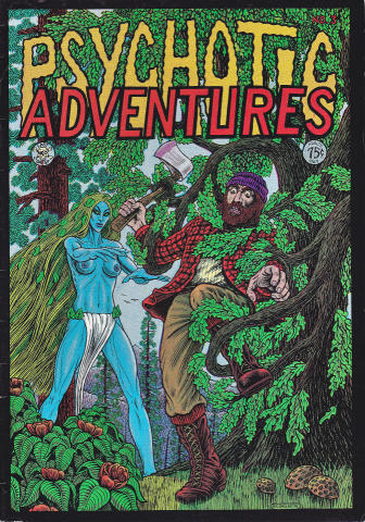 Last Gasp: Psychotic Adventures #3