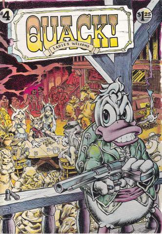Star Reach Productions: Quack! #4