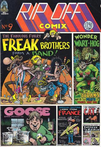 Rip Off Press: Rip Off Comix #9