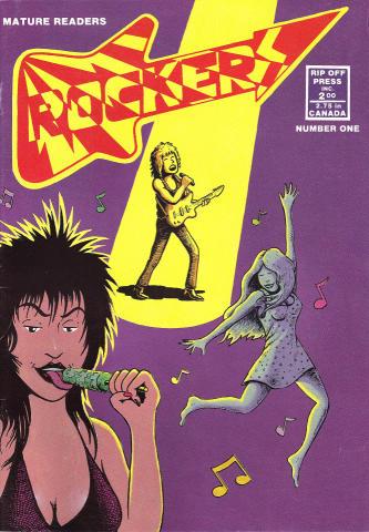 Rip Off Press: Rockers #1