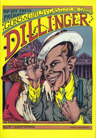 Rip Off Press: Dillinger