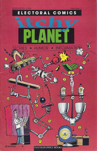 Fantagraphics: Itchy Planet #3