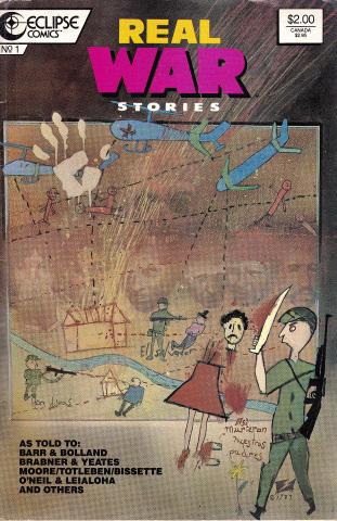 Eclipse Comics: Real War Stories #1