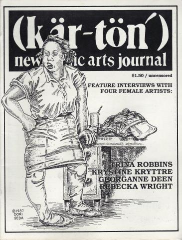 Kar-ton: New Comic Arts Journal #3