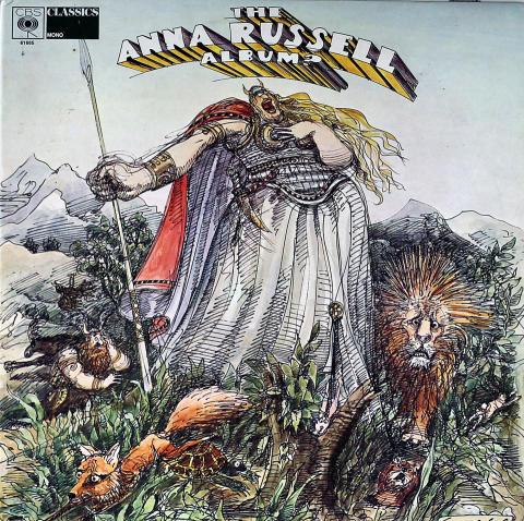 """Anna Russell Vinyl 12"""""""