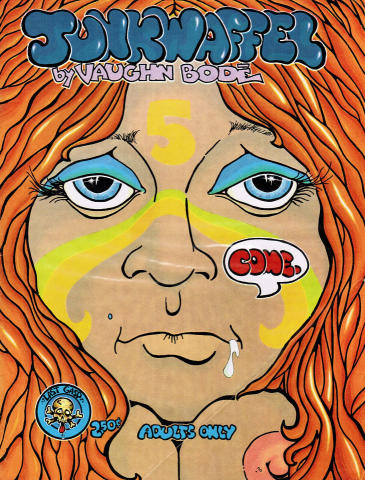 Junkwaffle #5 Comic Book