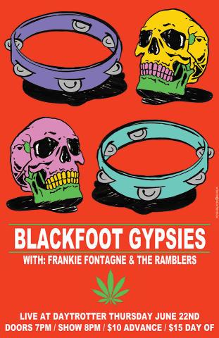 Blackfoot Gypsies Poster
