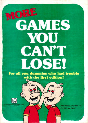 More Games You Can't Lose!
