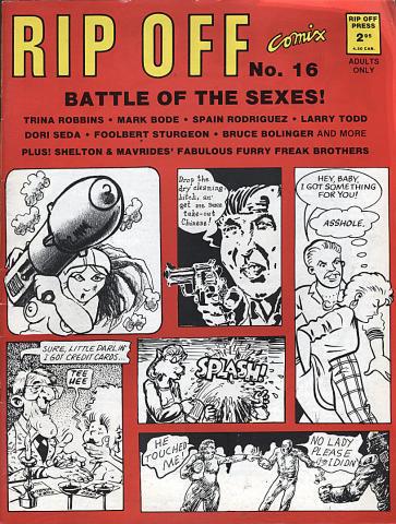Rip Off Press: Rip Off Comix #16