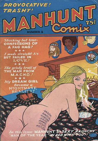 Cartoonists' Co-Op Press: Manhunt #2