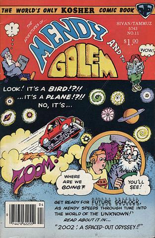 Mendy and the Golem Vol. 2 No. 5