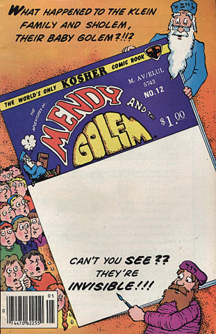 Mendy and the Golem Vol. 2 No. 6