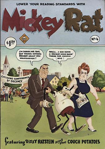 Last Gasp: Mickey Rat Vol. 1 #4