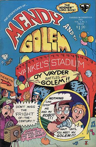 Mendy and the Golem Vol. 2 No. 1