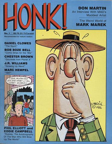 Fantagraphics: Honk! #1