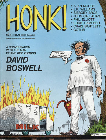 Fantagraphics: Honk! #4
