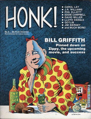 Fantagraphics: Honk! #5