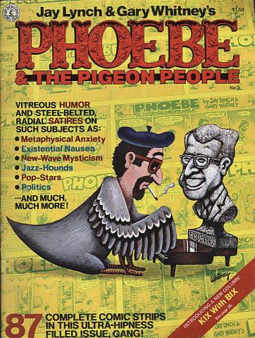 Kitchen Sink: Phoebe & The Pigeon People #3
