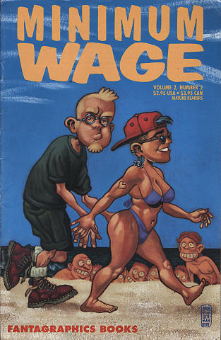 Fantagraphics: Minimum Wage Vol. 2 #2