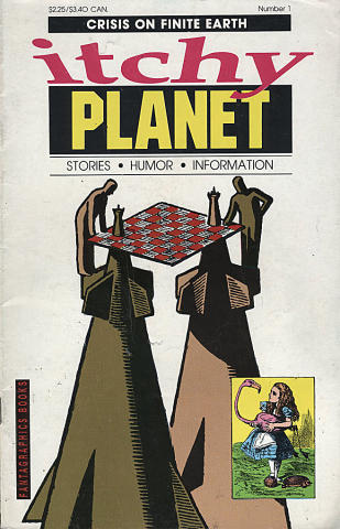 Itchy Planet #1