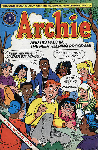 Archie and his Pals in the Peer Helping Program
