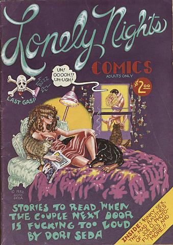 Last Gasp: Lonely Nights Comics